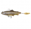 приманки SG 4D Trout Spin Shad 11 Dark Brown Trout 57416