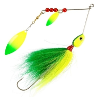 Solvkroken Spinnerbait Flashtail