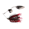блесна SG TI-Flex SpinnerBait 10cm 17g Black Widow gunsmoke 48623