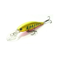 воблер Lucky Craft P 65DDSP 860 Yellow Pink Red Rainbow