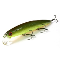 воблер Lucky Craft FM 110SP 116 Chartreuse Green Rootbeer