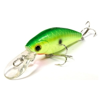 воблер Lucky Craft Bevy Shad T55SP 111 Peacock