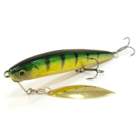 воблер Lucky Craft Blade Cross Bait 110 Aurora Green Perch