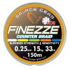 шнур Savagear Finezze HD8 230m multicolor 0.40mm 80lbs 36.3kg 47551