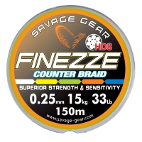 Шнур Savage Gear Finezze HD8 Braid