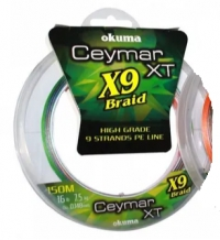 Шнур Okuma Ceymar XT9 150m Multi Color