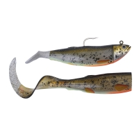приманки SG Cutbait Herring Kit 20 270g 70-Deciving 3D Burbot (Glow 49153